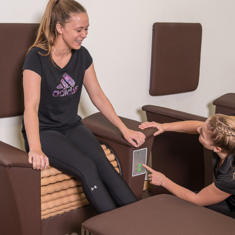 Rollen-Massage bei Fair Fitness