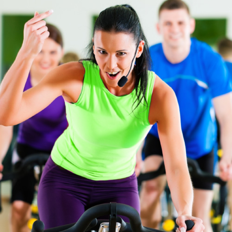 Indoor Cycling bei Fair Fitness
